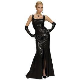 Vestido cocktail negro Talla L para mujer