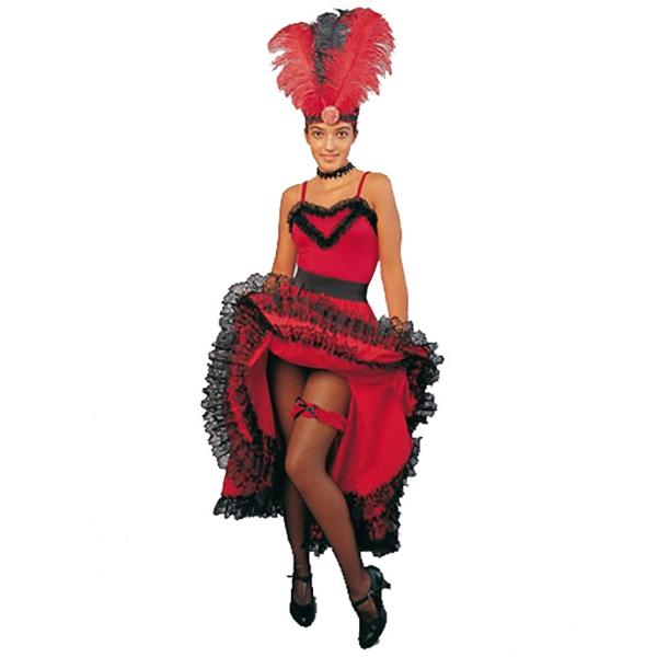 Body Cancan Rojo Talla G