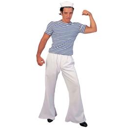 Pantalón marinero blanco