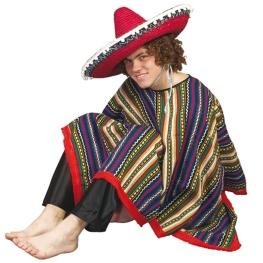 Poncho Mexicano Talla 8