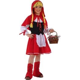 Disfraz de Caperucita Talla 9 a 11 años