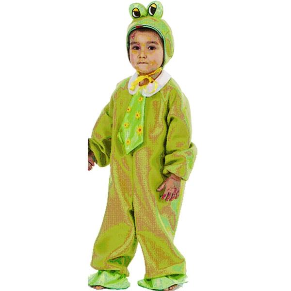 Disfraz de Rana con corbata Infantil 3 a 4 años