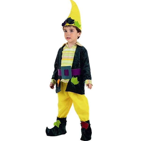 Disfraz de Elfo del bosque 3 a 4 años para niño