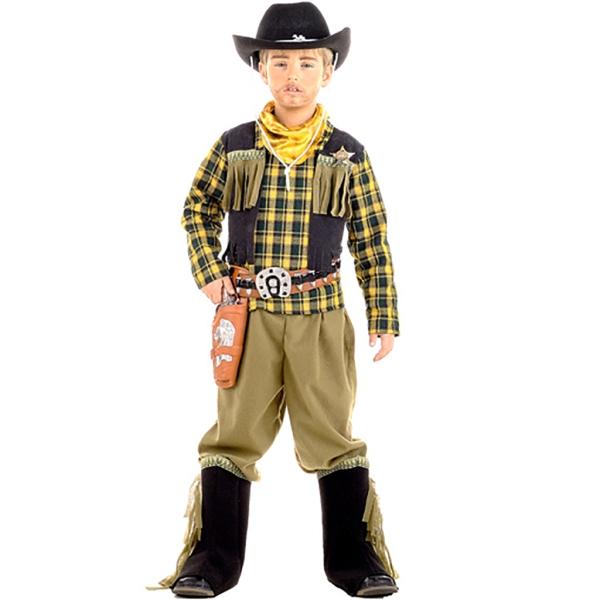 Disfraz de Vaquero 7 a 9 años para niño