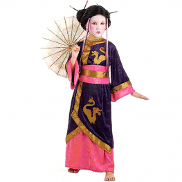 Disfraz de Geisha Talla 11-13 años para niña