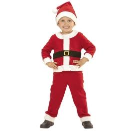 Disfraz de Traje Papá Noel para Niños 3 a 4 años