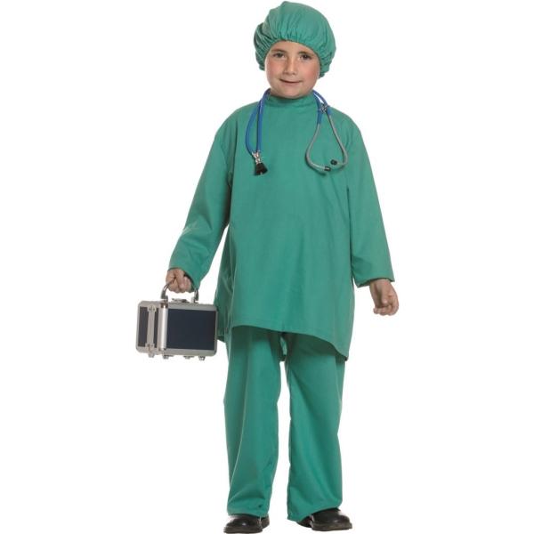 Disfraz de Medico 5 a 6 años para niño0