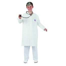 Disfraz de Bata Blanca T-6