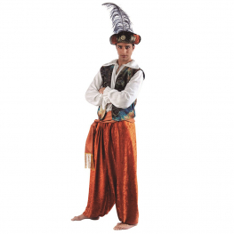 Disfraz de Paje Reyes Magos para Hombre T-L