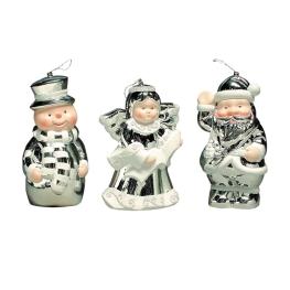 3 muñecos 18 cm
