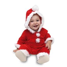 Disfraz de Papá Noel Velvet 0-1 años para bebé