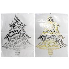 Pegatina árbol de navidad 70x50cm 2std
