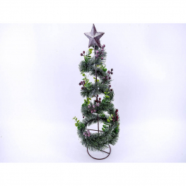 Árbol de navidad c/estrella 48x17cm