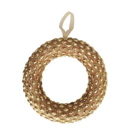 Corona colgante oro 22 cm ø.