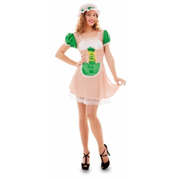 Disfraz de Fresa Talla ML para mujer