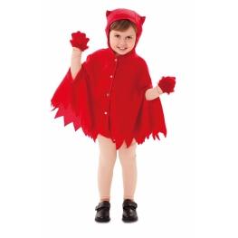 Disfraz De Capa Demonio Para Bebé