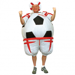 Disfraz de Disfraz hinchable pelota Inglaterra para adulto