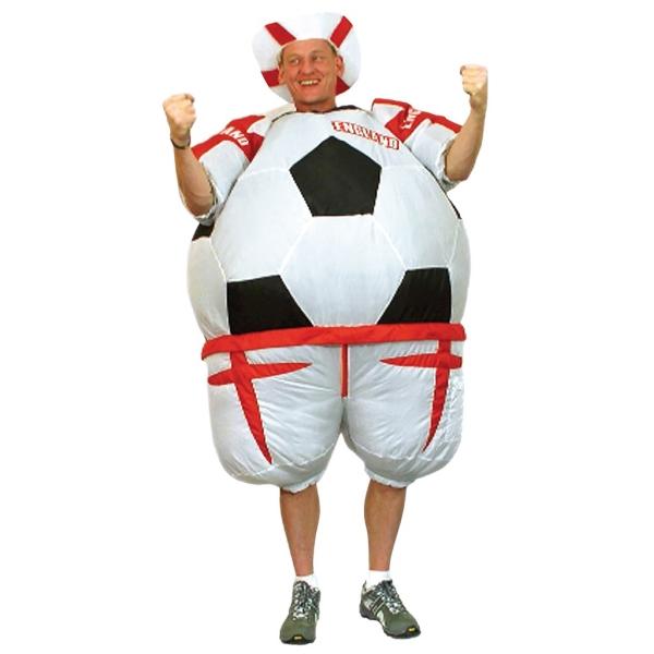 Disfraz de Disfraz hinchable pelota Inglaterra para Hombre