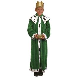 Disfraz de Rey verde para niño