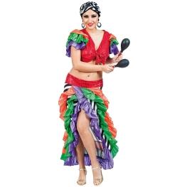 Disfraz de Brasileña para Mujer