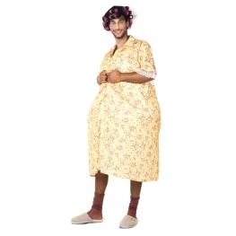 Disfraz de mujer exhibicionista Talla ML para hombre