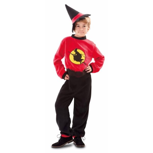 Disfraz de Brujo 10 a 12 años para niño