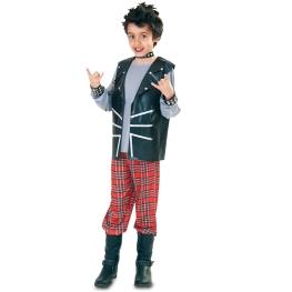 Disfraz de Punk para niño