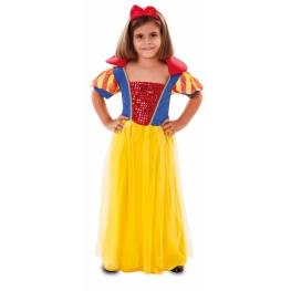 Disfraz de Blancanieves 3 a 4 años para niña