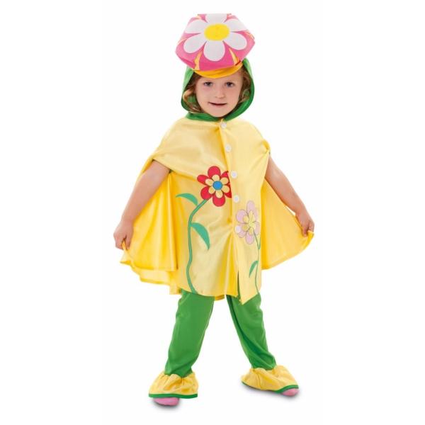 Disfraz de Flor para 3 a 4 años