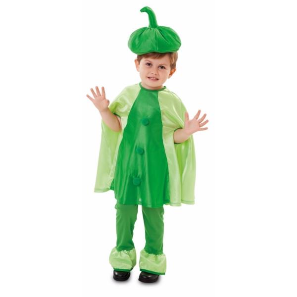 Disfraz de Guisante 3 a 4 años