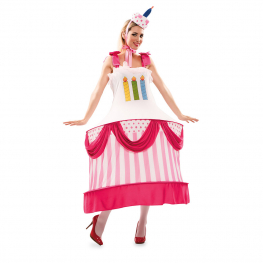 Disfraz de Cumpleaños para Mujer