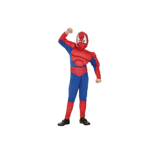 Disfraz de Héroe araña musculoso Infantil 10 a 12 años