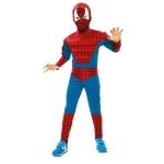 Disfraz de Héroe araña musculoso Infantil 7 a 9 años