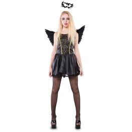 Disfraz de Hada negra Talla ML para mujer