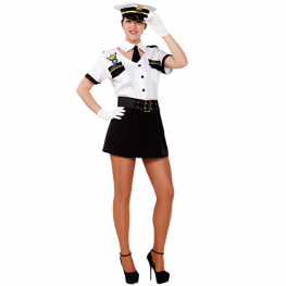 Disfraz de Piloto Talla ML para mujer