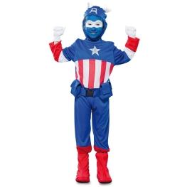 Disfraz de Capitán azul para Niño