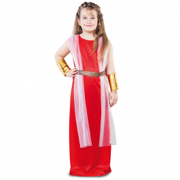 Disfraz de Dama romana para Niña