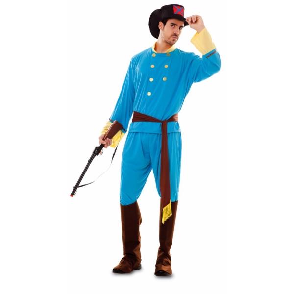 Disfraz de Confederado Talla ML para hombre