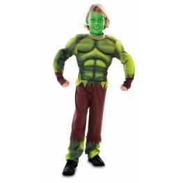 Disfraz de Monstruo verde para niño