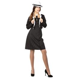 Disfraz de Chica gángster  para Mujer