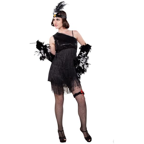 Disfraz de Chica charlestón para Mujer