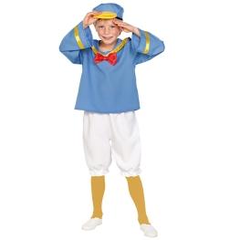 Disfraz de Patito marinero para Niño