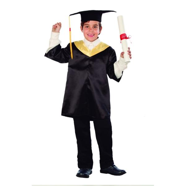 Disfraz de Graduado 7 a 9 años para niño