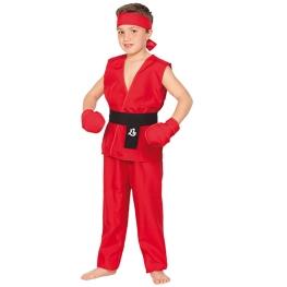 Disfraz de Guerrero kung fu para Niño