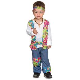 Disfraz de Hippie para bebé y niño