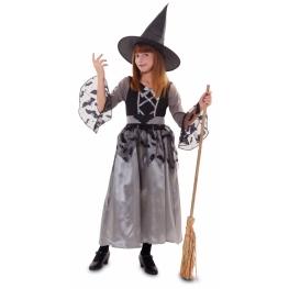 Disfraz de Bruja gris para Niña