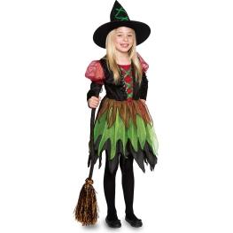 Disfraz de Bruja hada para niña