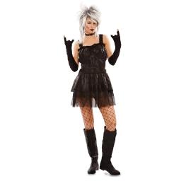 Disfraz de Gótica Talla ML para mujer