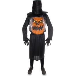 Disfraz de Calabaza con sombrero Talla ML para hombre