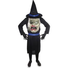 Disfraz monstruo con sombrero Talla ML para hombre